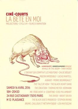 La Bête en Moi - ciné-courts - La Main Collectif © Noël Rasendrason