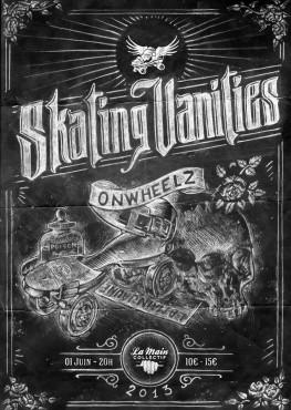 Onwheelz - Skating Vanities - La Main Collectif © Merlin Schemel
