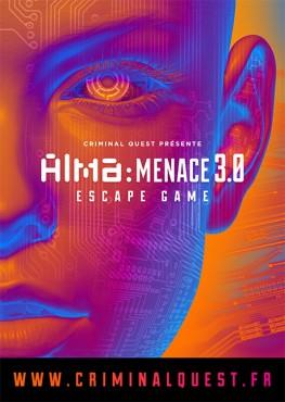 Alma Menace 3.0 - Criminal Quest - Collectif La Main © Julien Paris