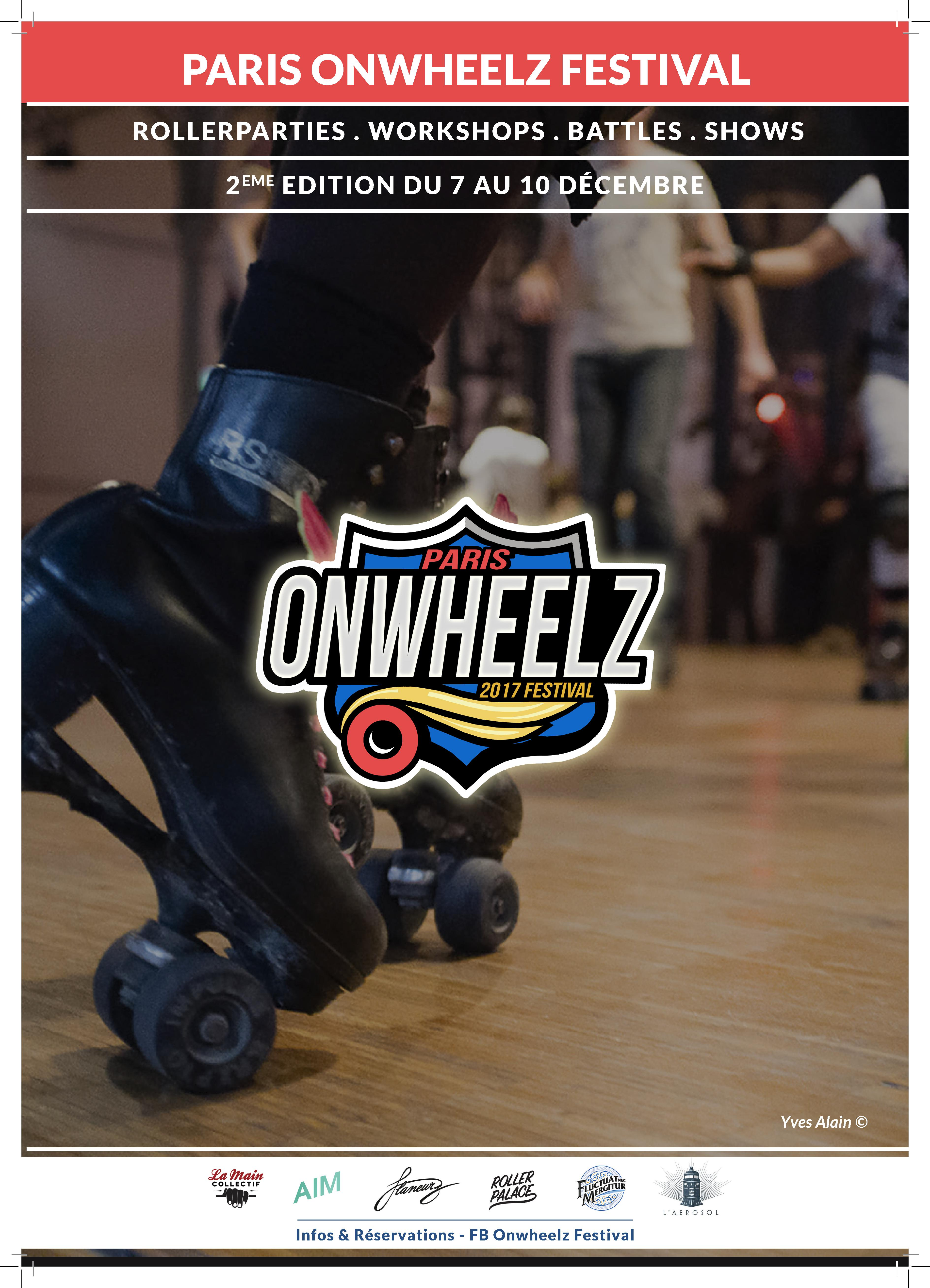 Paris Onwheelz Festival 2017 - La Main Collectif © Merlin Schemel & Yves Alain