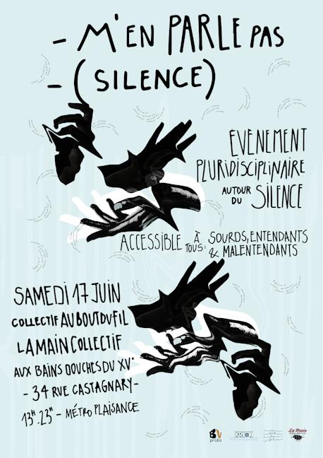 M'en parle pas (Silence) - Au bout du fil & La Main Collectif © Lola Bertrand